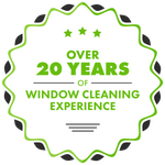 badge - Over 20 Years Of Window Cleaning Experience.png