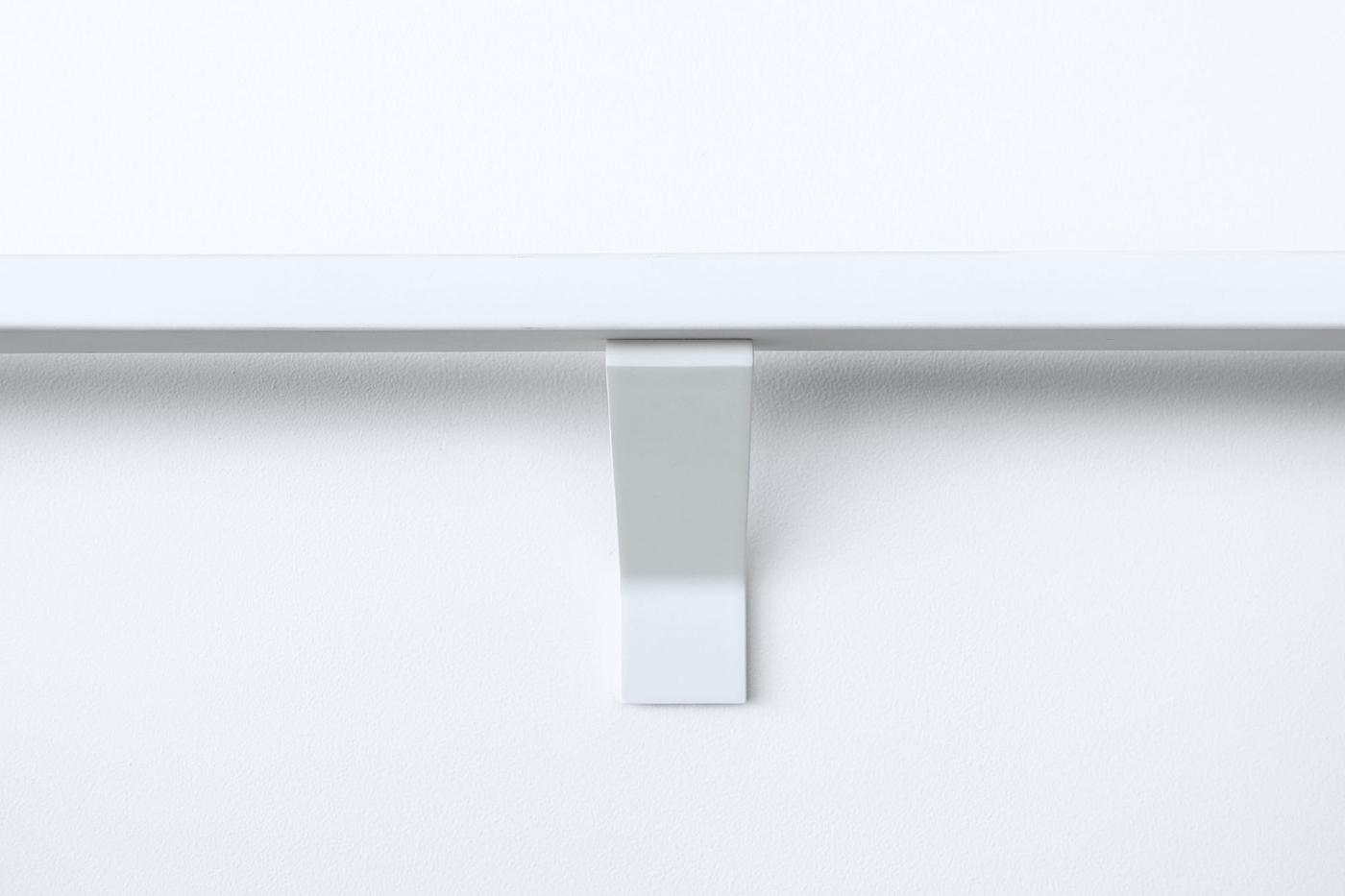 White-modern-handrail-bracket