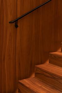 Wall-mounted-black-handrail-brackets