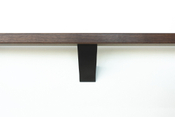 Black-wall-mounted-handrail-bracket