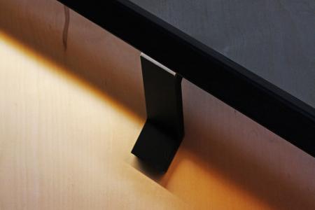 Black-modern-wall-mounted-LED-handrail-bracket