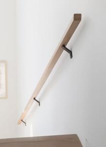 Modern-black-wall-mounted-handrail