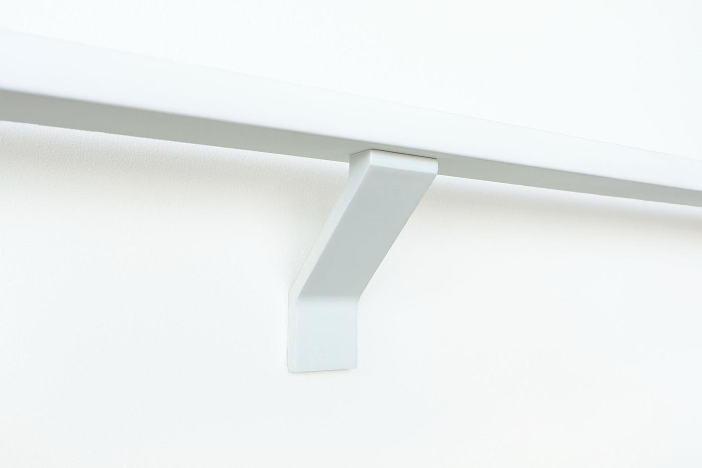 Simple-white-handrail-bracket