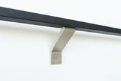 Modern-brushed-stainless-steel-bracket