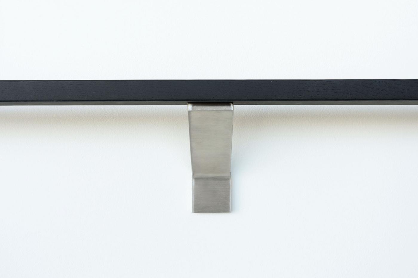 Modern-brushed stainless-handrail-bracket