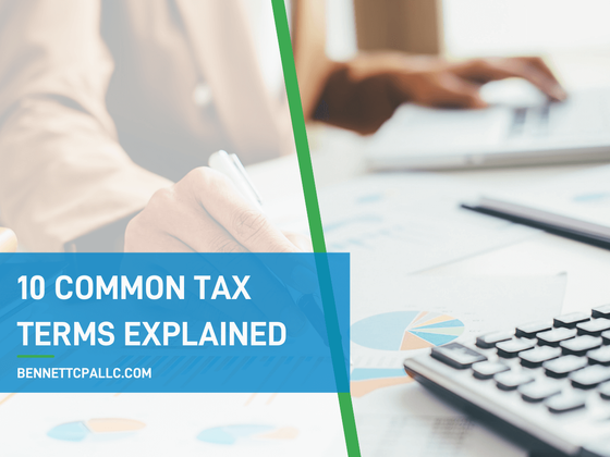 10 common tax terms explained