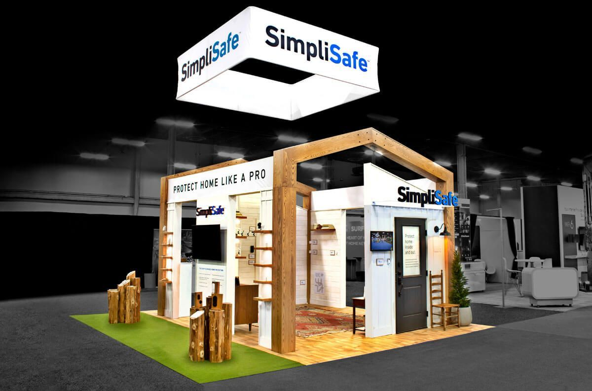 Dynamic Architectural Booth