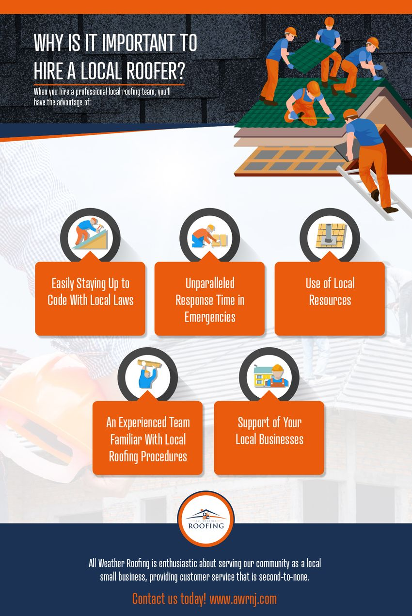 Why Is It Important to Hire a Local Roofer?