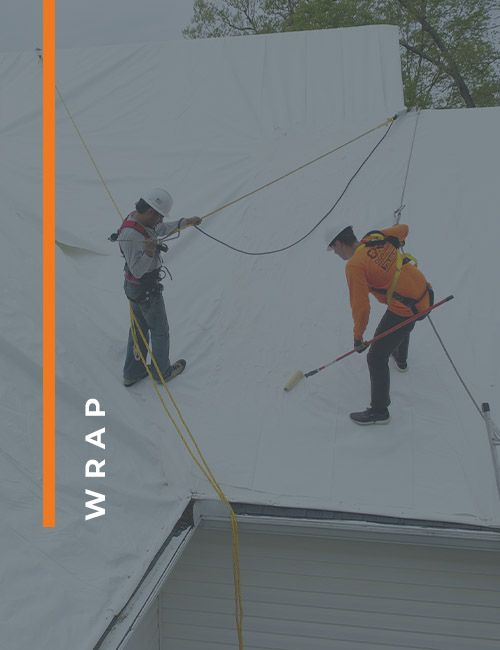 WRAP ROOFING