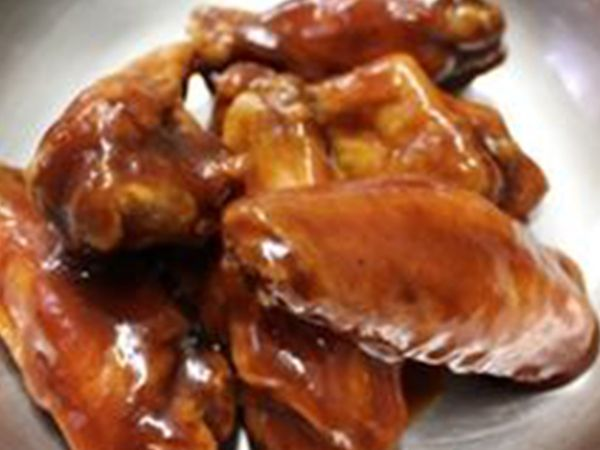 image of Pizza Casbah Honey Beer Barbeque wings