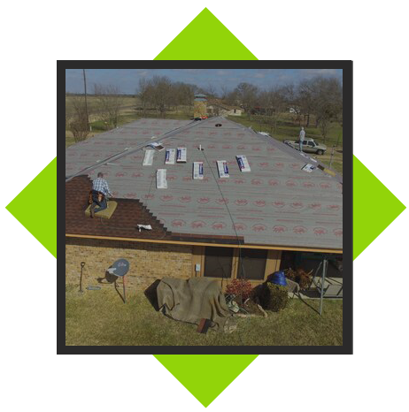 COMMERCIAL & RESIDENTIAL ROOF INSTALLATIONS icon