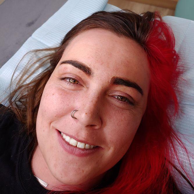 Microblading brows at The Permanent Makeup Studio