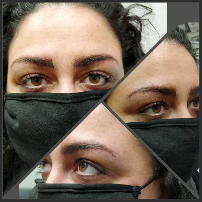 Before and After Image of services from The Permanent Makeup Studio