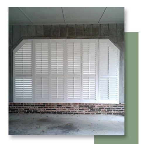 Image of an exterior plantation shutter.