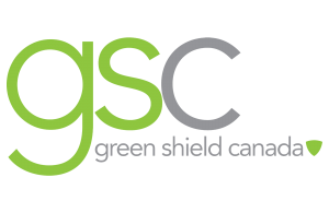Logo from green shield canada representing one of Hometown Hearing's funding options.