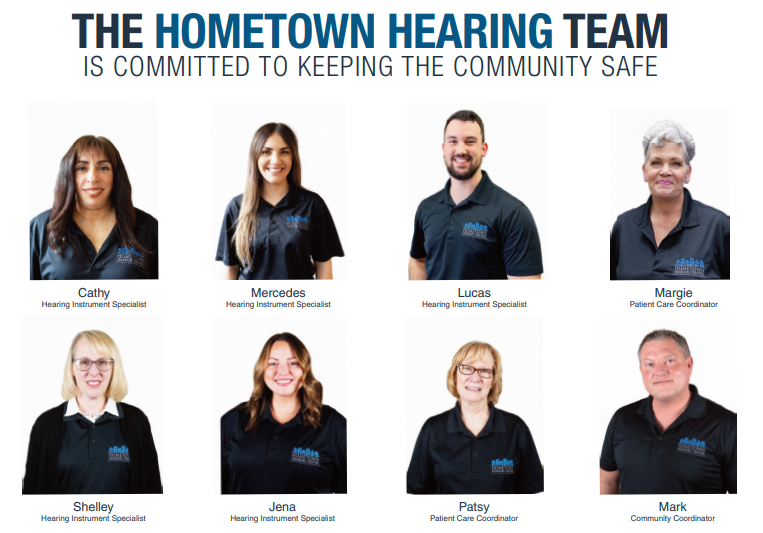 The Hometown Hearing Centre Team in Ontario