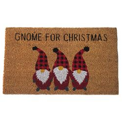 Gnome For Christmas Door Mat