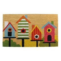 Birdhouse Door Mat