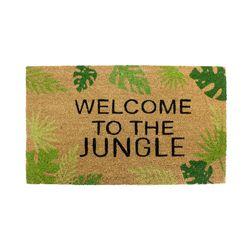 30x18 Welcome To The Jungle Door Mat