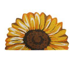 17x29 Sun Flower Door Mat