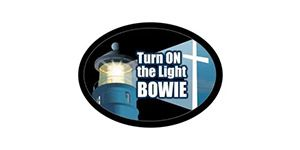 turn on the light bowie logo