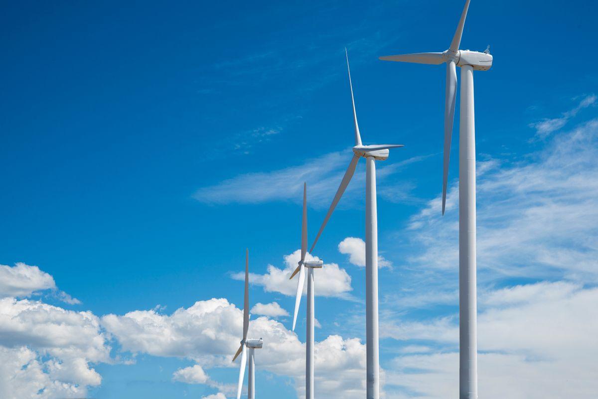 Wind Farm in Eastern Washington