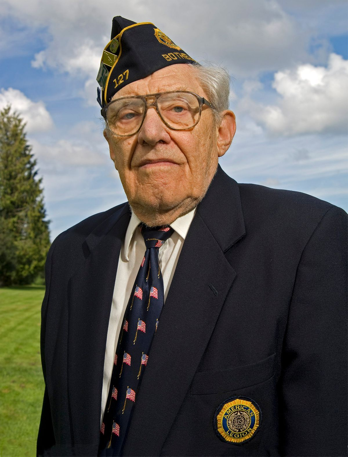 US Army WWII Veteran Preston Scheid