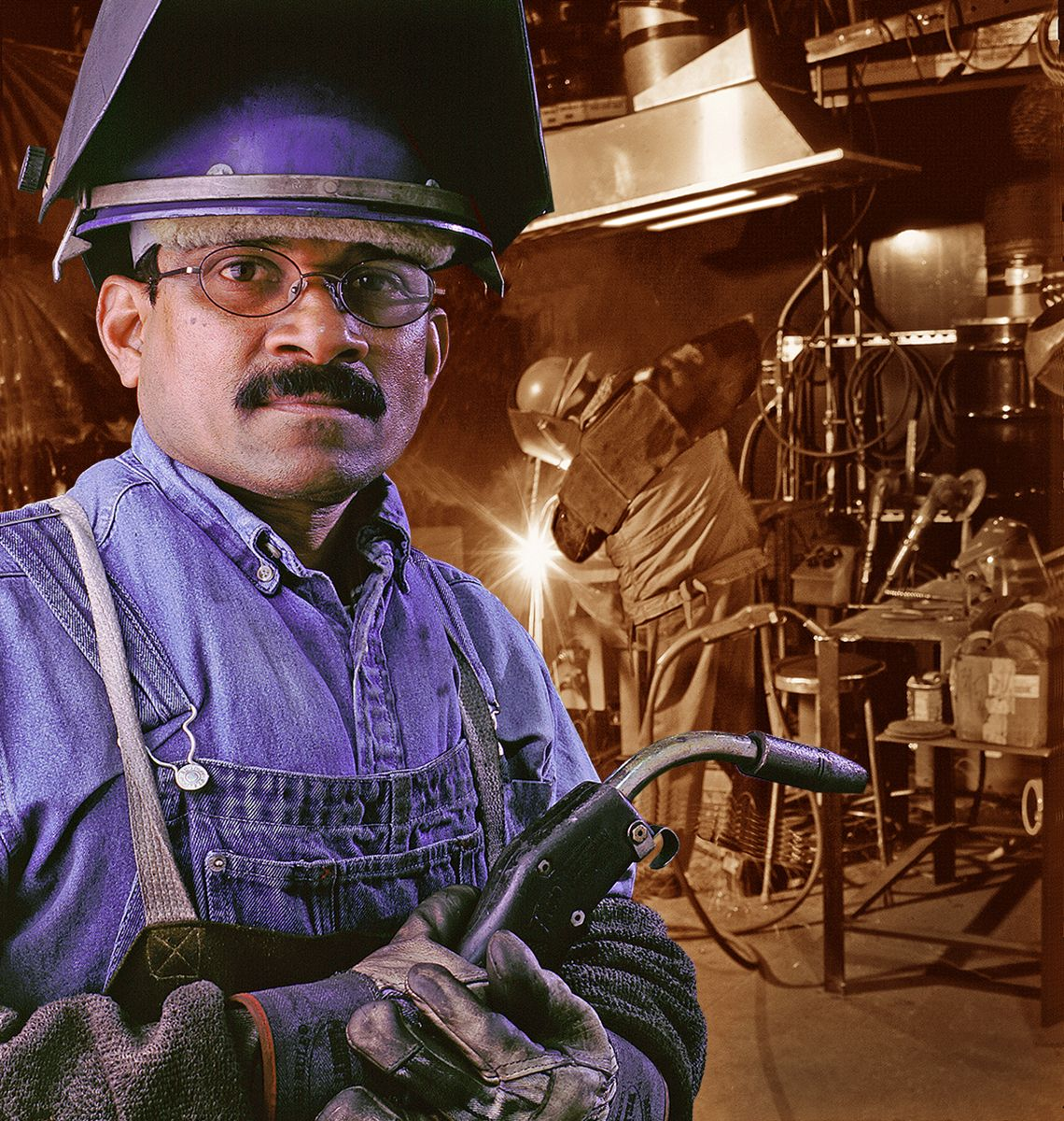 Romac Industries Welder