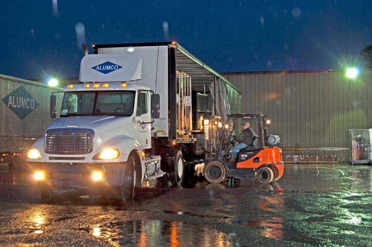 Alumco Truck Loading