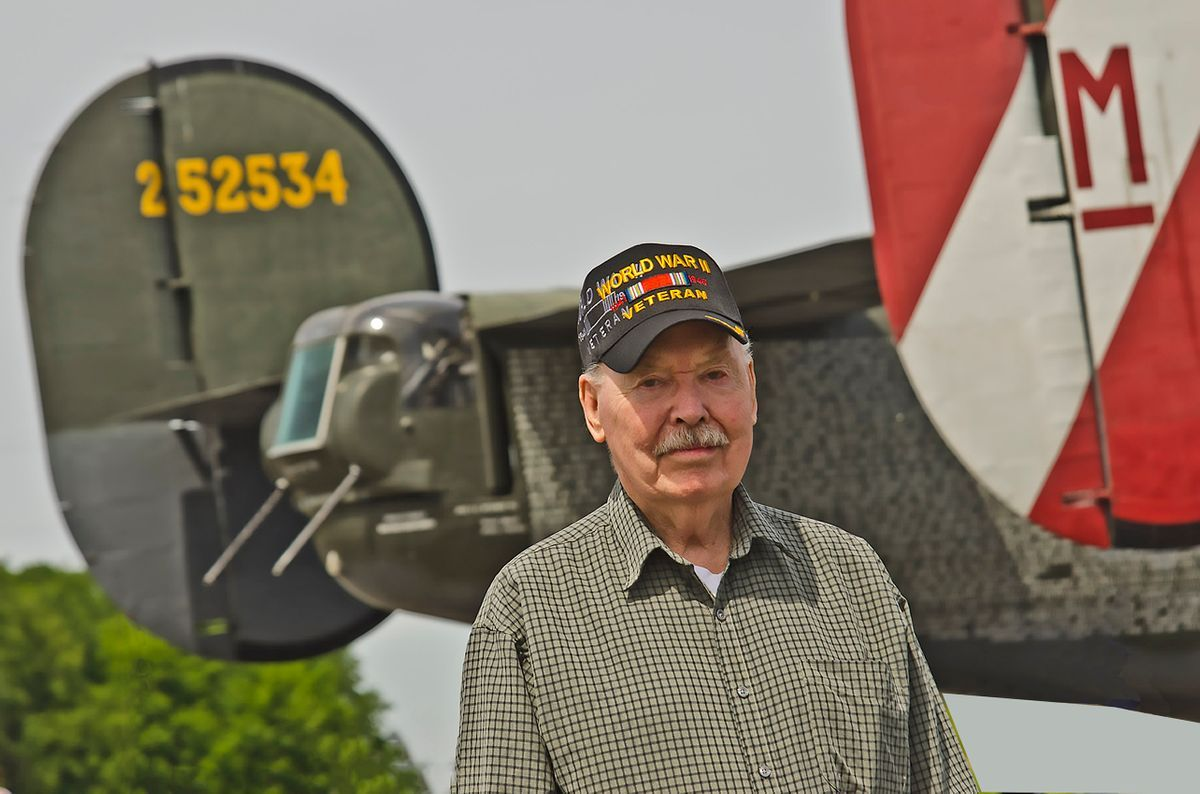WWII Veteran Sgt. Bob Otto US Army Air Corp.