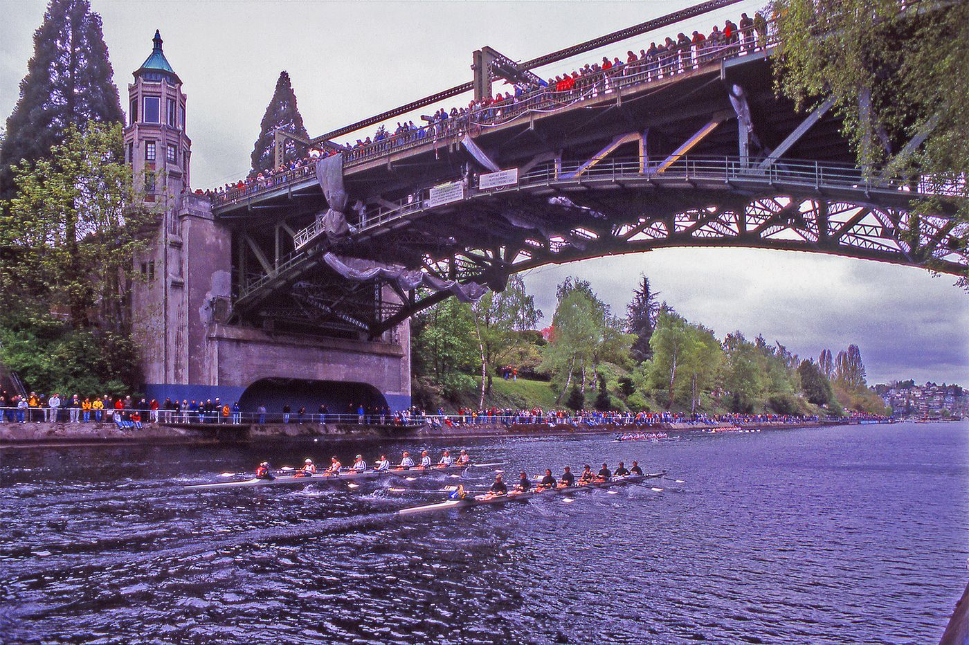 2 Eights on Montlake Cut