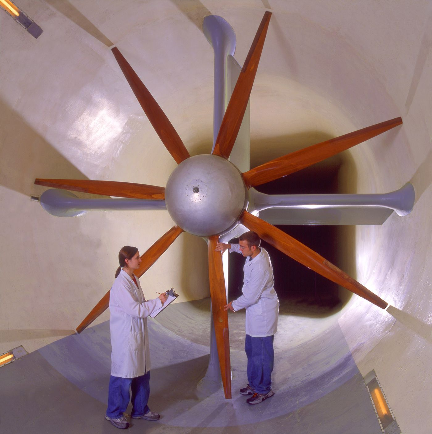 The Giant Kirsten Wind Tunnel at the University of Washington