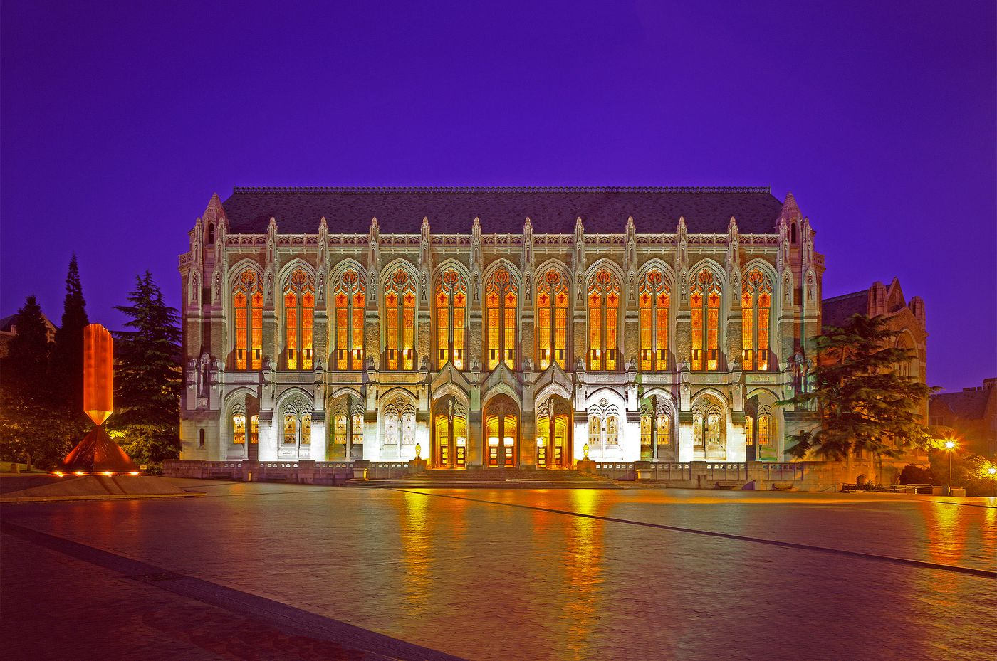 Suzallo Library at Twilight