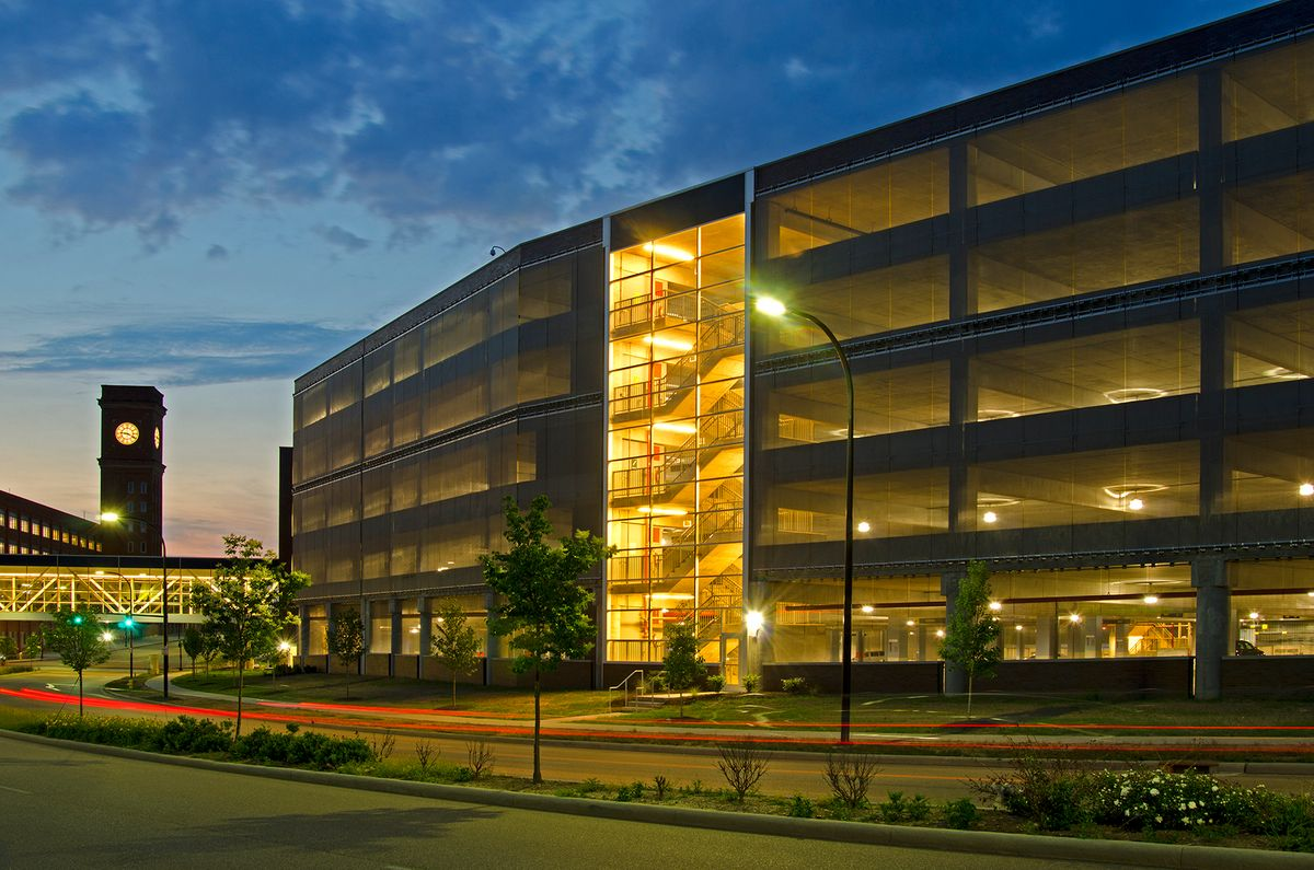 Goodyear World  Headquarters Parking Structure