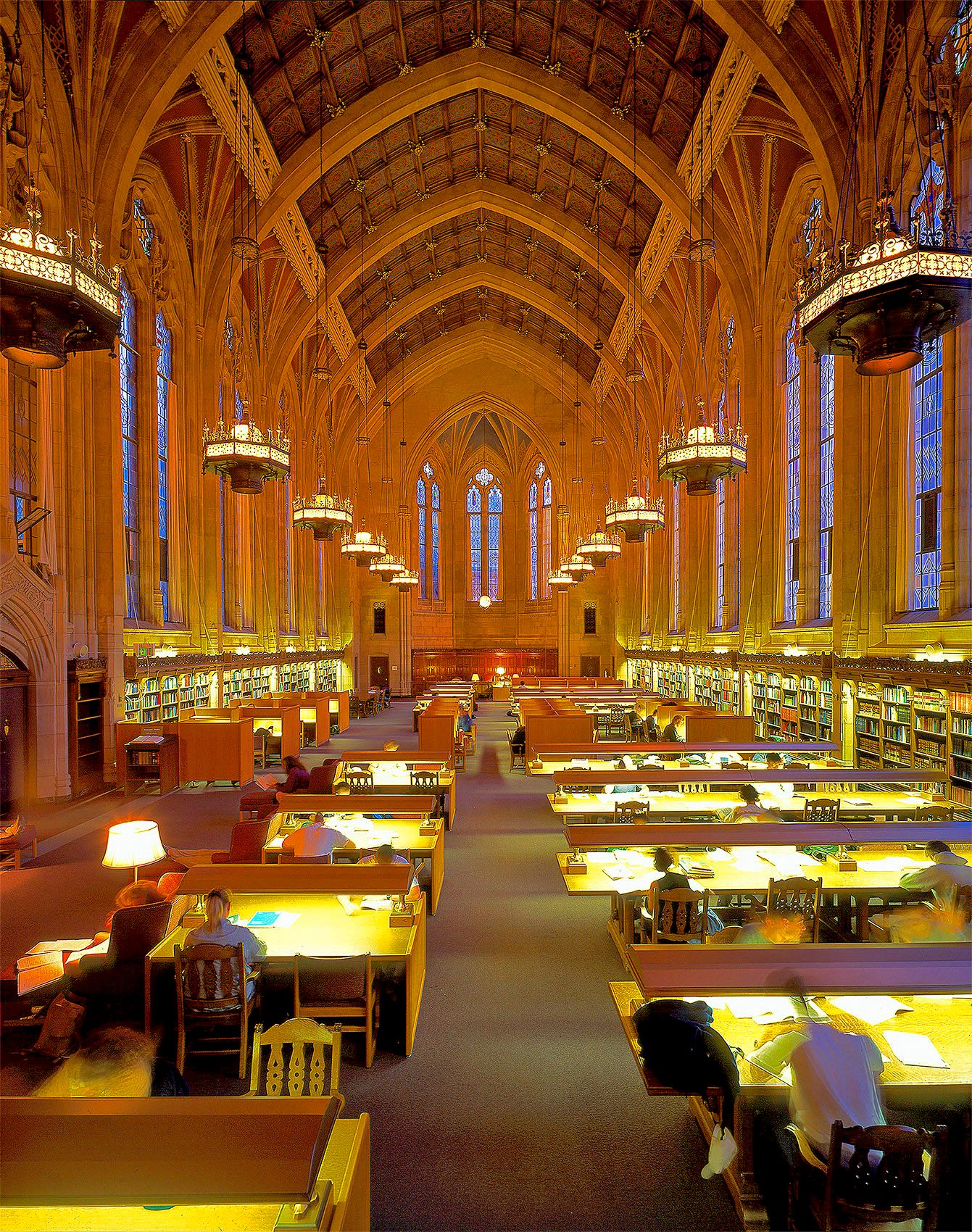 The senior reading room at the Suzallo Library on the UW campus is by far the most amazing room I've ever been in.
