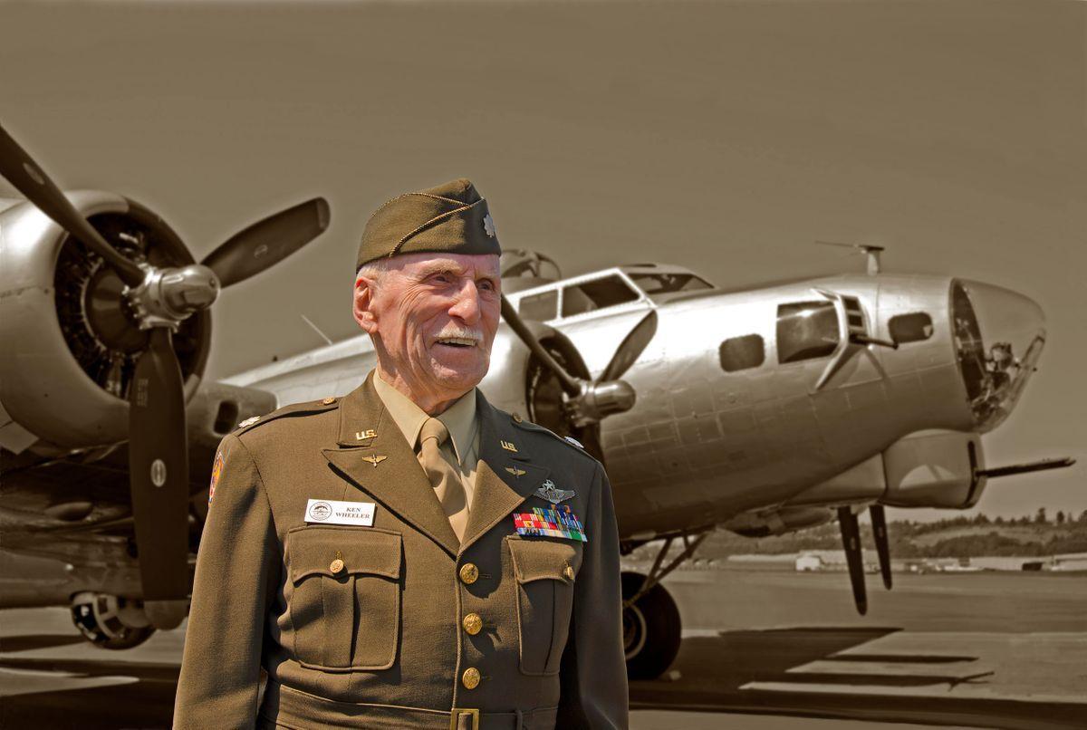 Lt. Col Ken Wheeler, navigator, warrior.