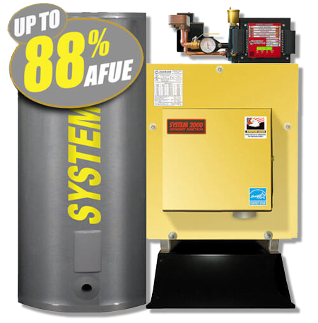 Product image of the Energy Kinetics Boiler.
