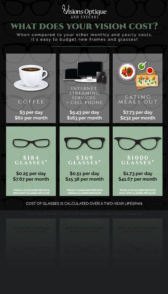 Vision Cost Infographic
