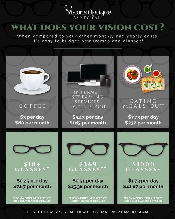 What Does Your Vision Cost