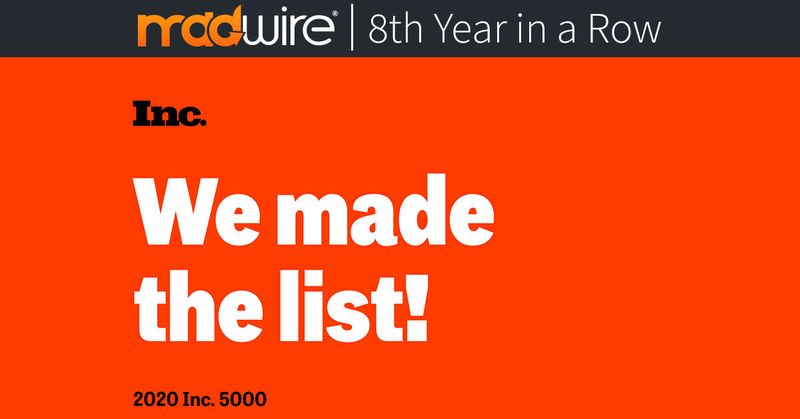 Madwire® Makes the Inc. 5000 List