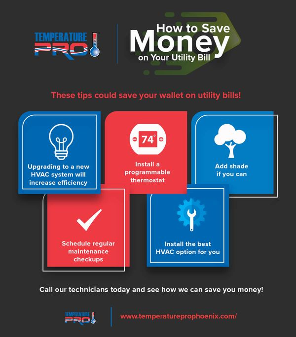 infographic - save money on utilities