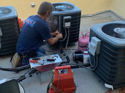 Commercial AC Unit Repairs