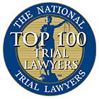 The National Top 100 Trial Lawyers Badge