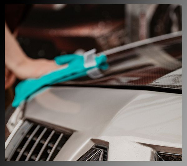 Feel closer to your car by waxing it by hand!