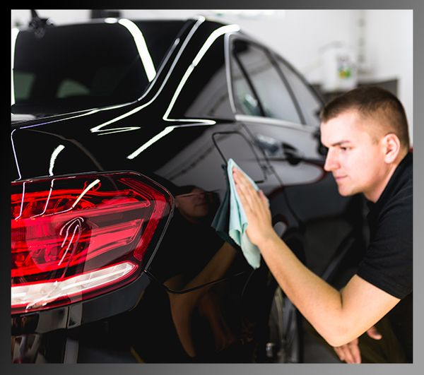 You can more easily wax the whole surface of your car by hand