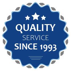 Quality service since 1993
