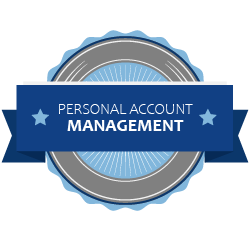 Personal account management