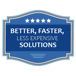 Better, faster, less expensive solutions