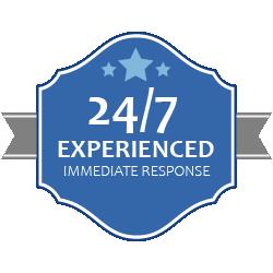 24/7 experienced immediate response