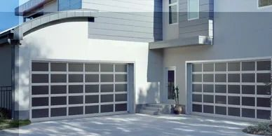 Full View Glass Garage Doors
